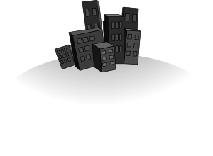 Karamelo_City_clipart_svg_med_from_Clker_Medium